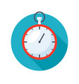 stylish stopwatch icon vector image