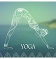Yoga-2 vector image vector image