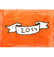 2014 Cartoon Banner vector image vector image