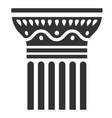 antique column icon classical element