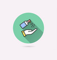 antiseptic icon for graphic and web design