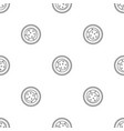 choco star biscuit icon outline style vector image vector image