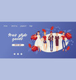 fashion girls banner your vector image