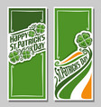 greeting card for st patricks day vector image