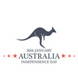 Independence Day Australia vector image vector image