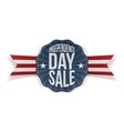 Independence Day Sale vintage Banner vector image vector image