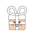 shopping gift symbol vector image