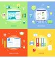 Concepts creative process graphic design vector image