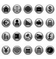 business and finance symbols vector image