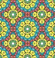 geometric designs floral patterns vector image