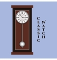 classic watch vector image