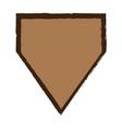 empty sport emblem vector image
