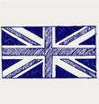 Flag of england vector | Price: 1 Credit (USD $1)