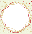frame round vector image vector image