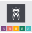 icon dentistry vector image vector image