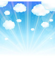 Sky And Cloud vector image