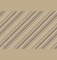 coffee color striped backround seamless pattern vector image