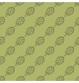 artichoke green seamless pattern vector image vector image