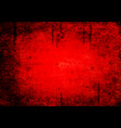 bloody grunge abstract texture background vector image vector image