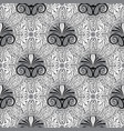 greek floral seamless pattern vector image