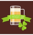 Happy St Patricks day card vector image vector image