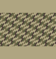 military camouflage abstract background pattern vector image vector image