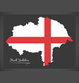north yorkshire map england uk with english vector image vector image