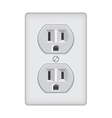 Plug jacks vector image vector image