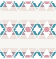 seamless hand drawn geometric pattern vector image vector image