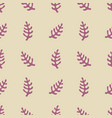 seamless pattern with stylized elements vector image vector image