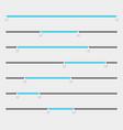 slider bars range levels vector image