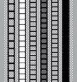 film strip for movie camera feel with filmstrip vector image vector image