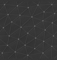 grey triangle seamless pattern vector image vector image