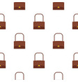 little bag pattern seamless vector image vector image