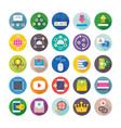 seo and digital marketing icons 15 vector image vector image