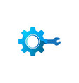 service tool and gear service logo designs vector image