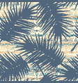 tribal ethnic seamless pattern with palm leaves vector image