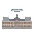 Vaux-le-Vicomte France vector image vector image