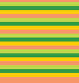 yellow and orange stripes seamless pattern vector image vector image