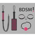 BDSM vector image