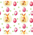 A seamless Easter Sunday template vector image vector image