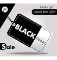 Black Friday sales tag 2 vector image