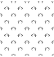 Crossed paintball guns pattern simple style vector image