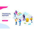 Financial report concept people do paperwork