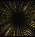 hyperspace speed warp template for your design vector image vector image