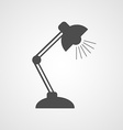 Reading-lamp flat icon vector image