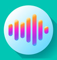 sound waves icon icon vector image vector image