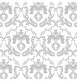 Vintage Floral ornament damask pattern vector image vector image
