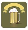 Beer Gravoure vector image vector image