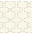 Beige vintage floral seamless pattern vector image vector image